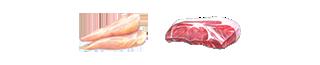 糖質の分解やエネルギー代謝 鶏ササミ・豚ロース