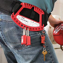 SAFETY PADLOCK CADDY