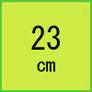23cm(安全靴)