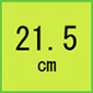 21.5cm(安全靴)