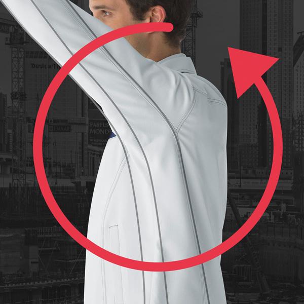 袖部 新立体裁断構造
