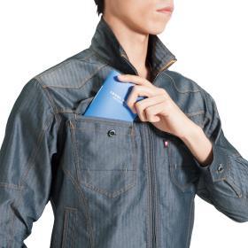 野帳ダブル収納ポケット(右・深さ20cm)