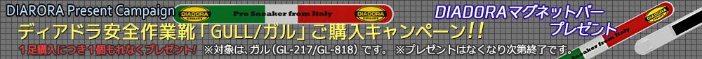 ディアドラ安全作業靴「GULL ガル」ご購入キャンペーン