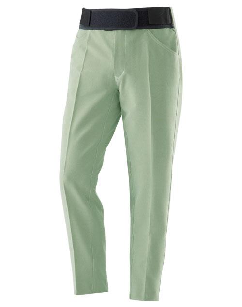 タテストレッチ PF1パンツ グリーン×ホワイト